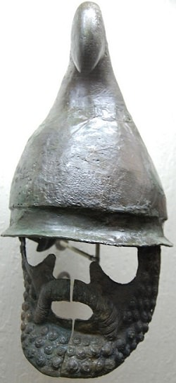 тракийско бойно снаряжение от родопите, беден